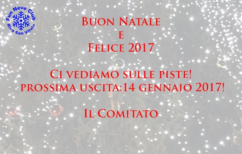 Buon Natale e uno scoppiettante 2017 a tutti!